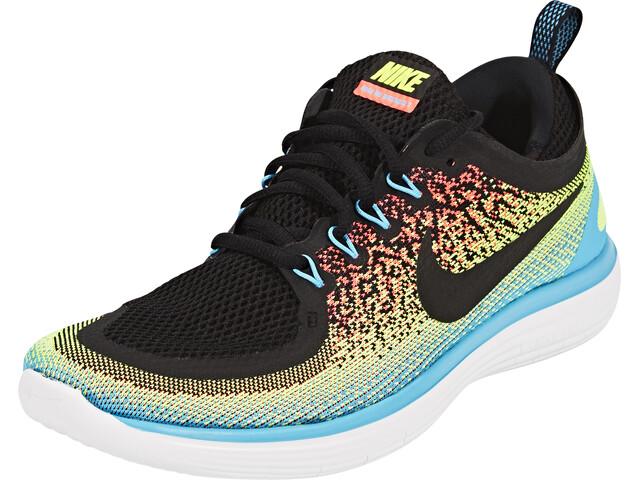 Nike Free RN Distance 2 Running Miehet Juoksukengät , punainen/sininen